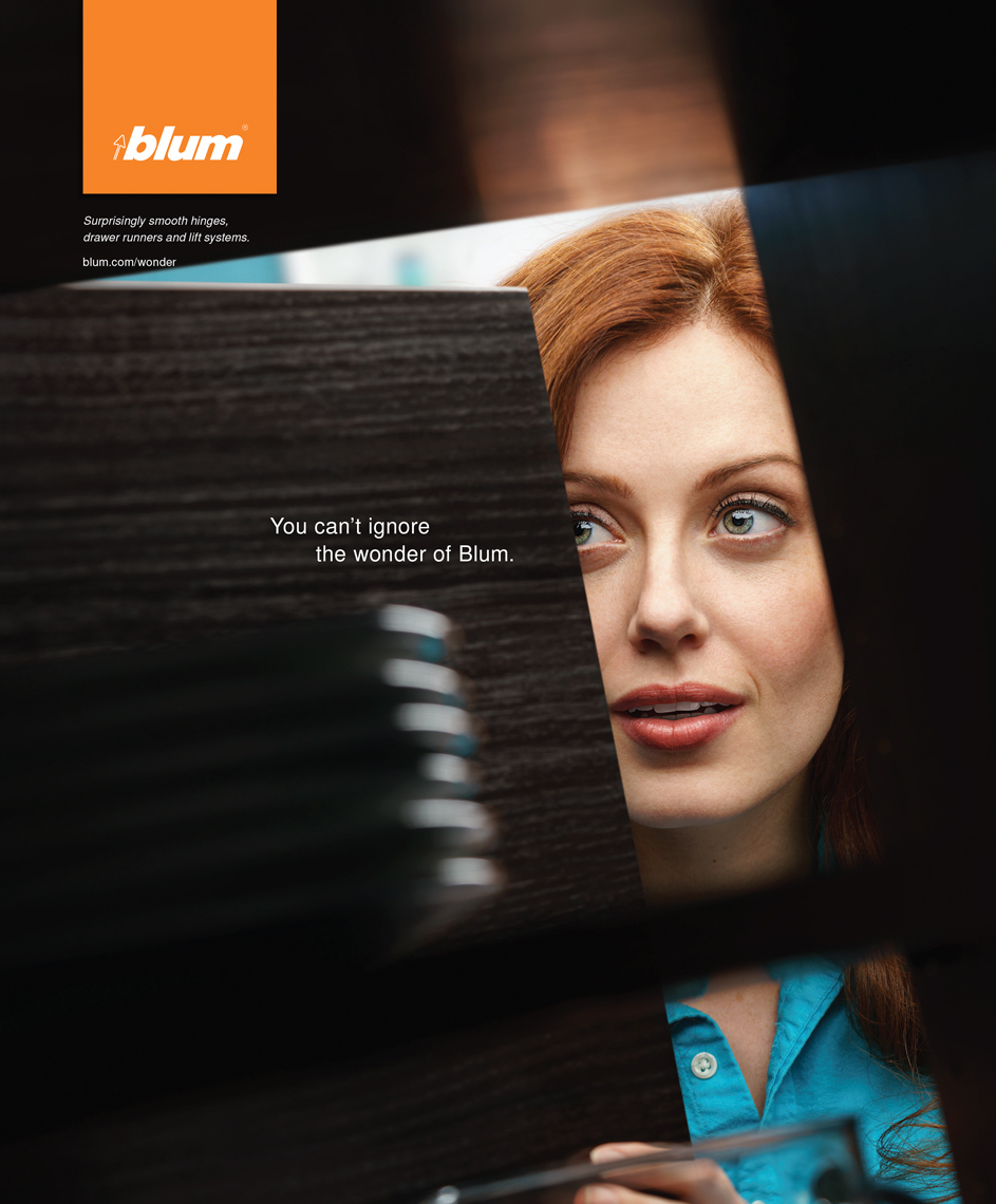 BLUM Kitchen Hardware Ad Campaign