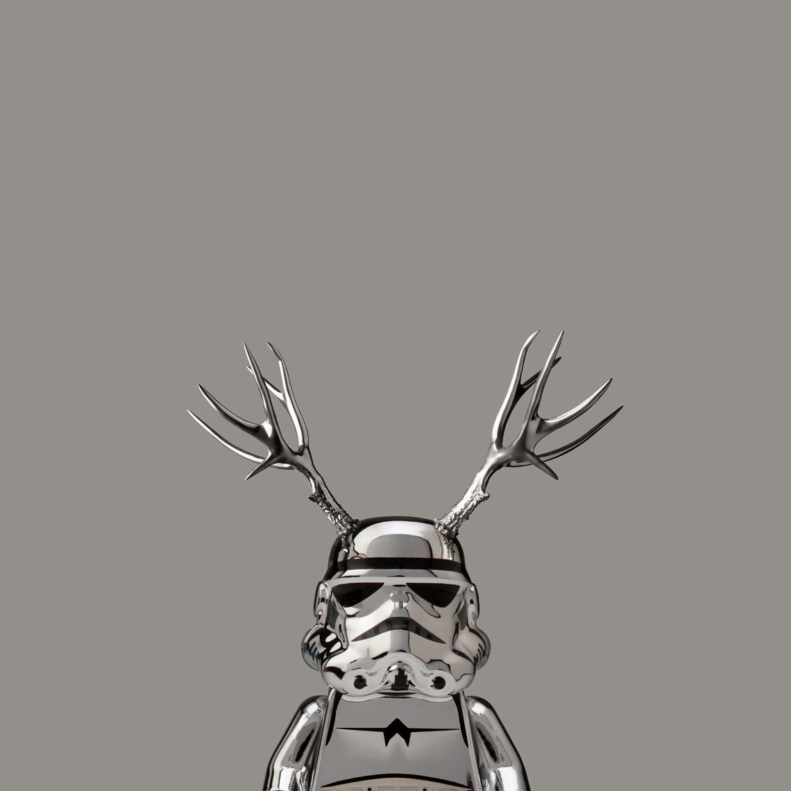 "Lego Wars ""Chrome Deer Trooper"""