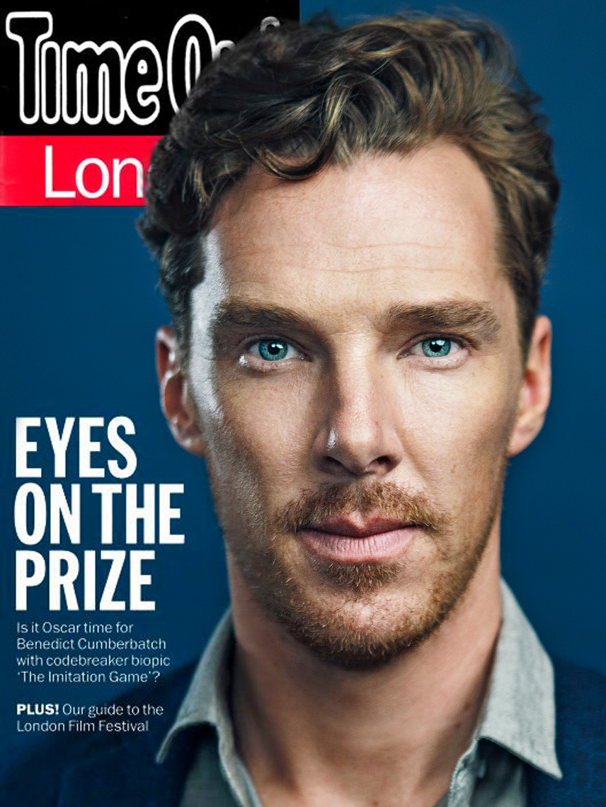 Benedict Cumberbatch on the cover of Time Out London