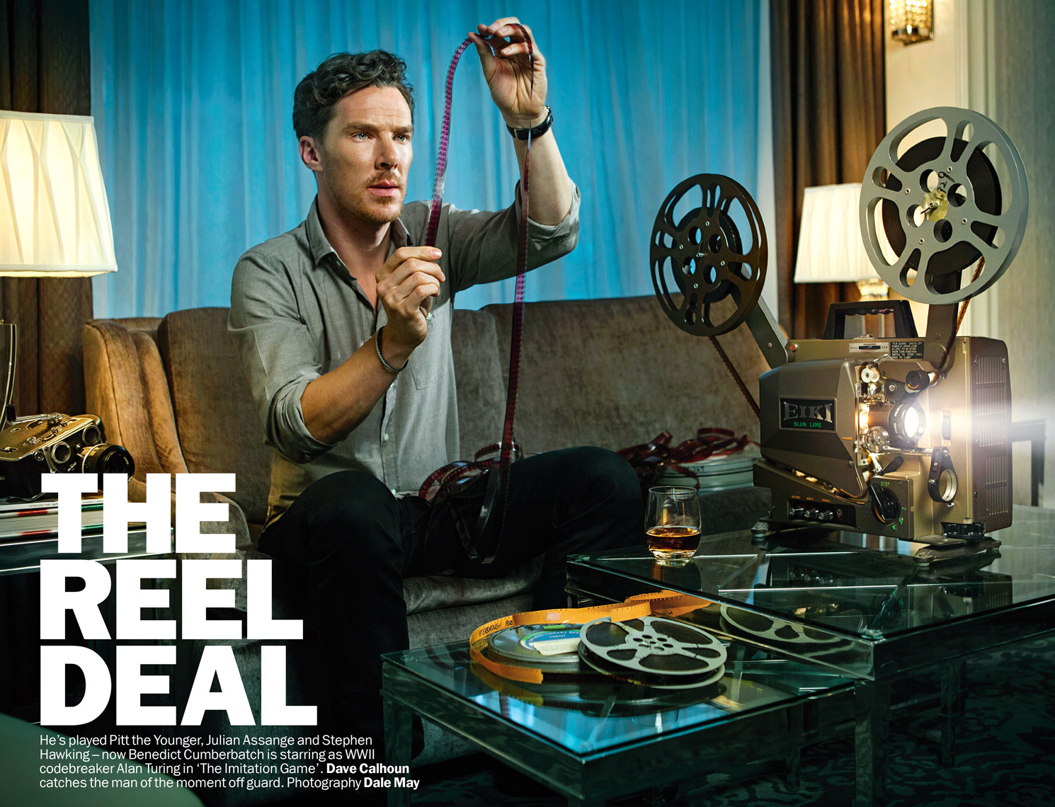 Benedict Cumberbatch  cover / feature in Time Out London Magazine