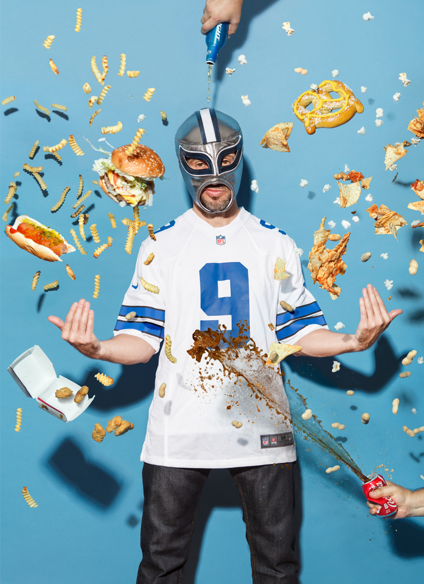 Sports Fanatic Food Fight