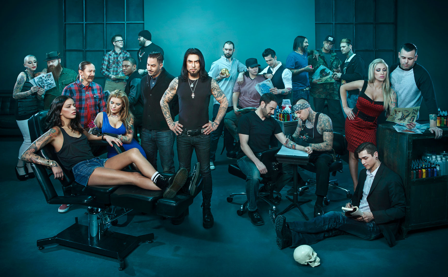 Ink Master with host Dave Navarro