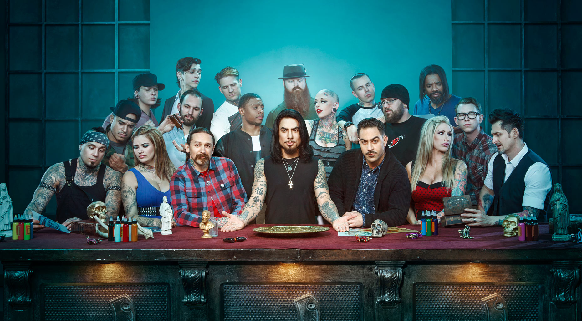 "Ink Master ""Last Supper"" with host Dave Navarro"