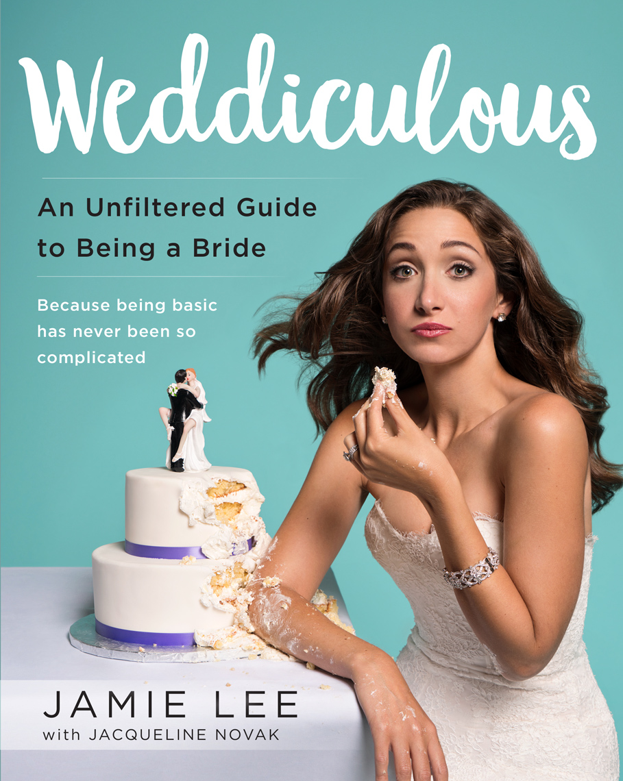 Jamie Lee book cover Weddiculous