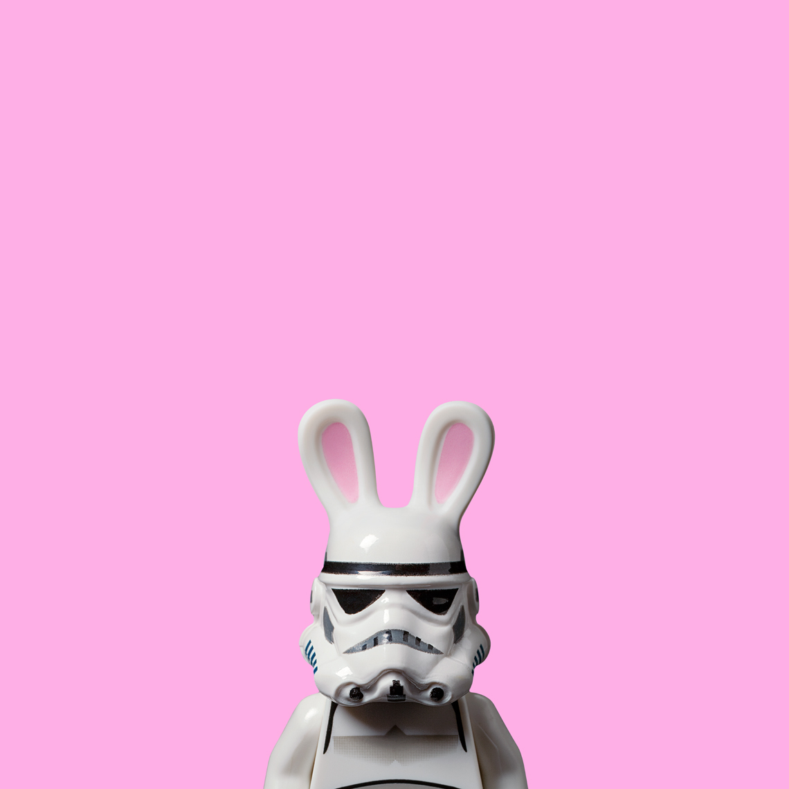 "Lego Wars - ""Bunny Trooper"" © Dale May"