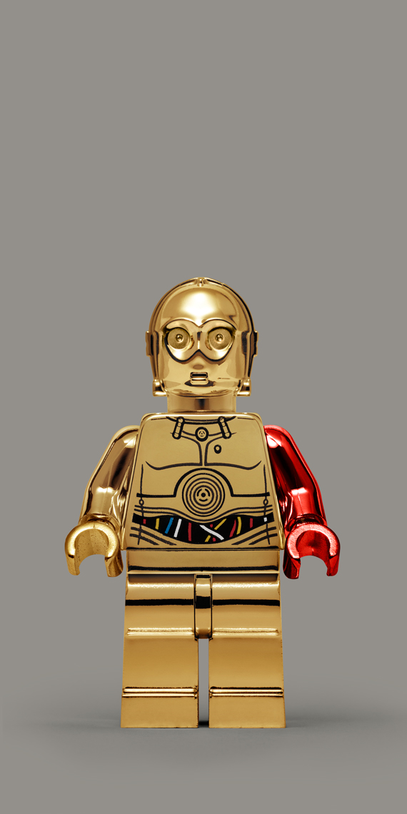 "Lego Wars - ""C3PO VII.TFA"" © Dale May"