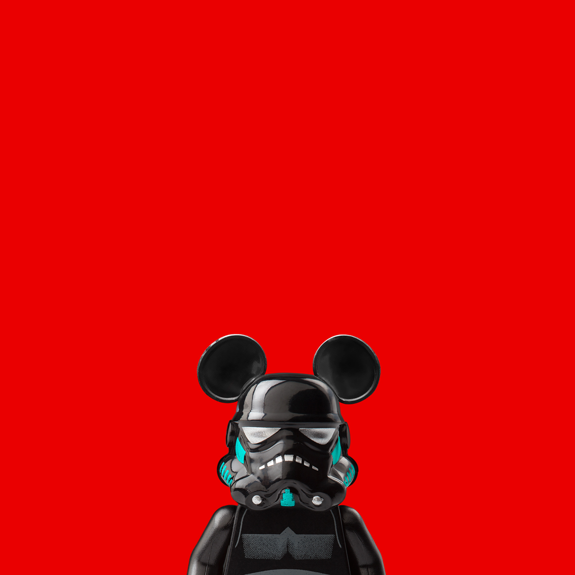 "Lego Wars - ""Mickey Mouse Trooper"" © Dale May"