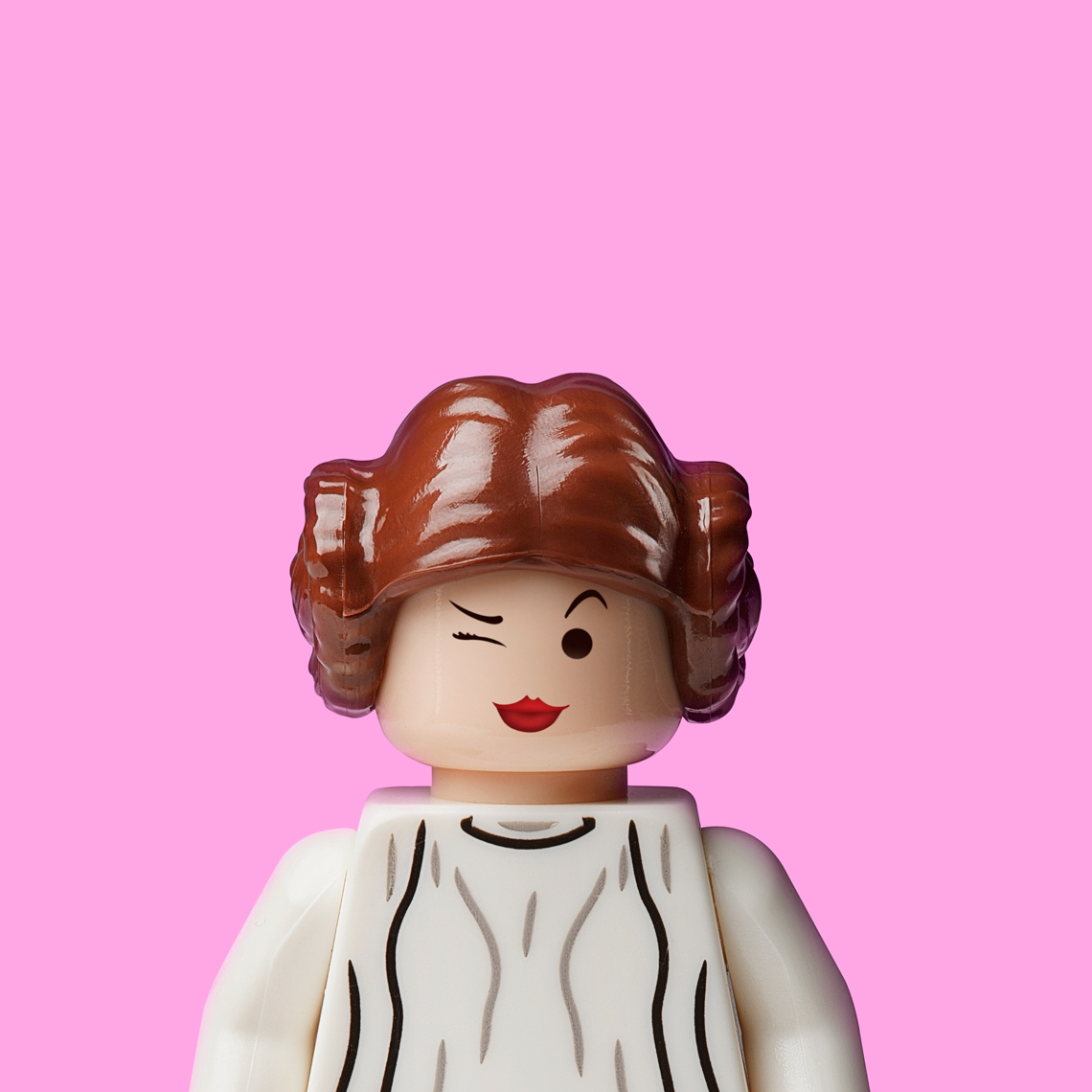 "Lego Wars - ""Princess Leia"" © Dale May"
