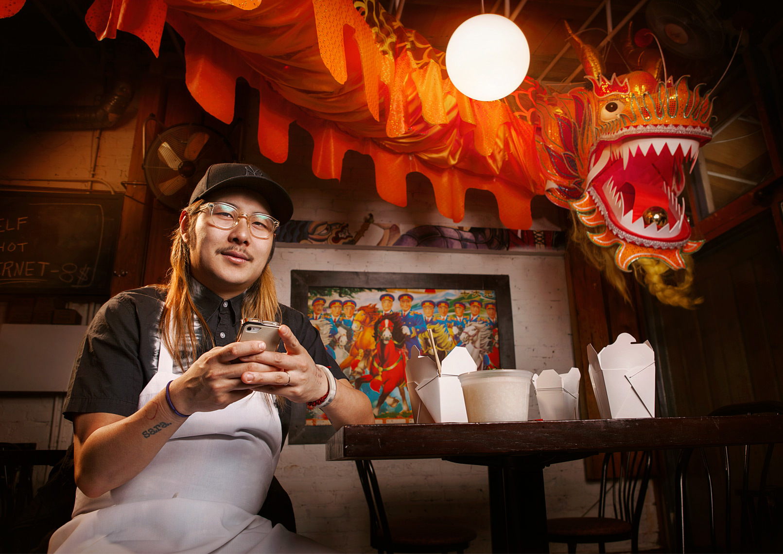Chef Danny Bowien of Mission Chinese Food