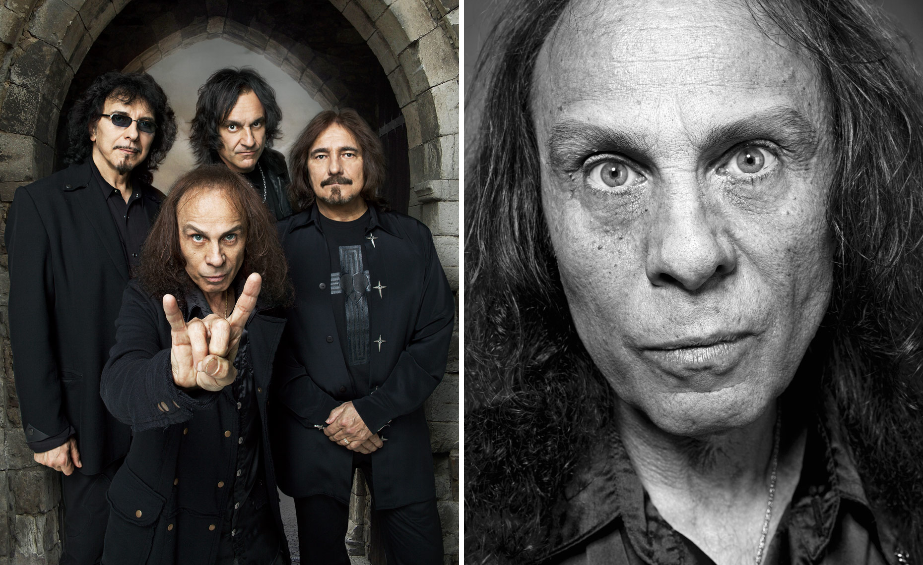 Black Sabbath / Ronnie James Dio © Dale May