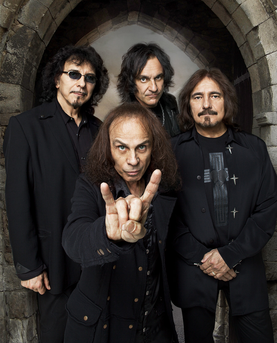 Ronnie James Dio with Black Sabbath
