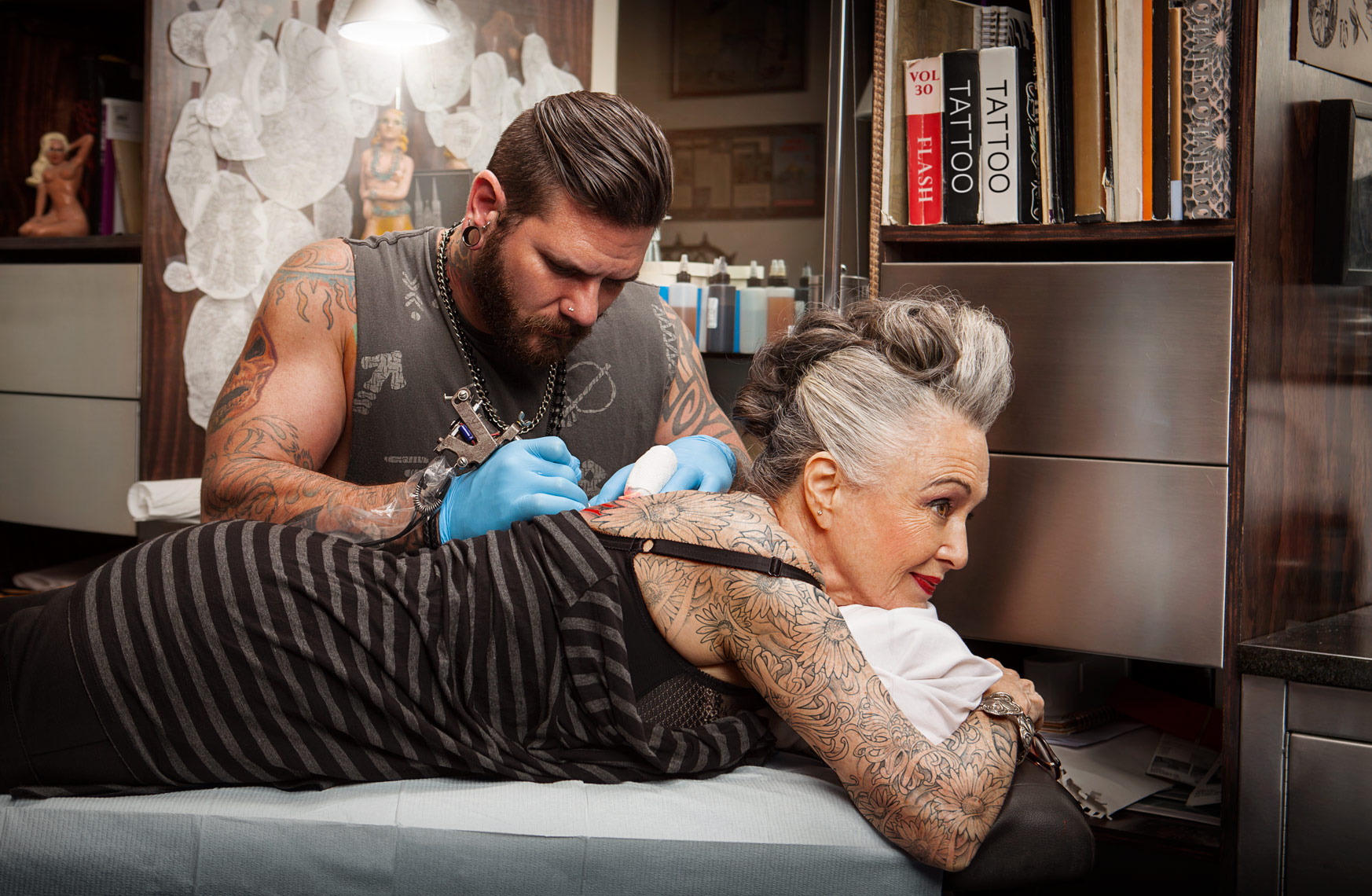 Tattooed Senior