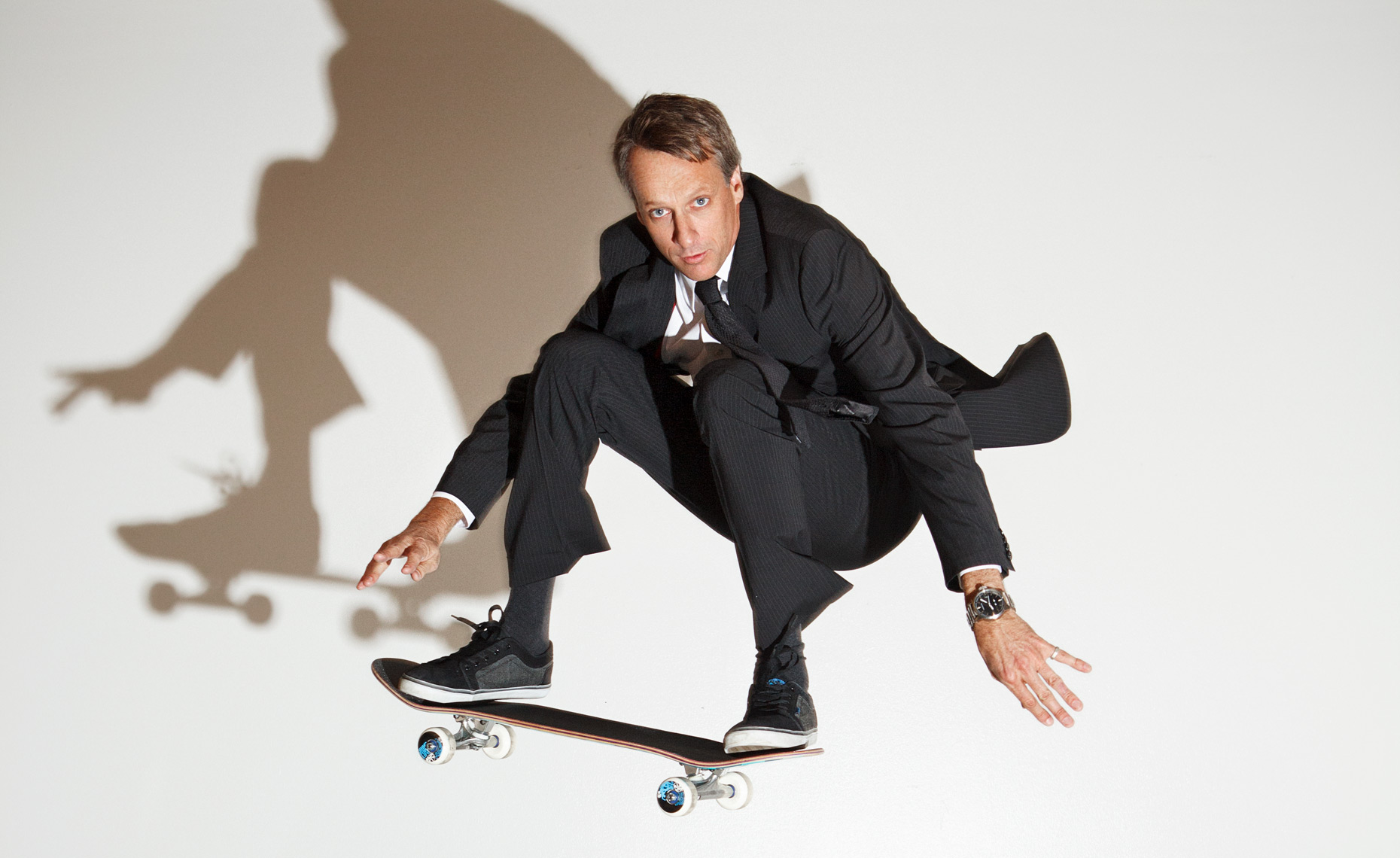 Skateboarder Tony Hawk © Dale May