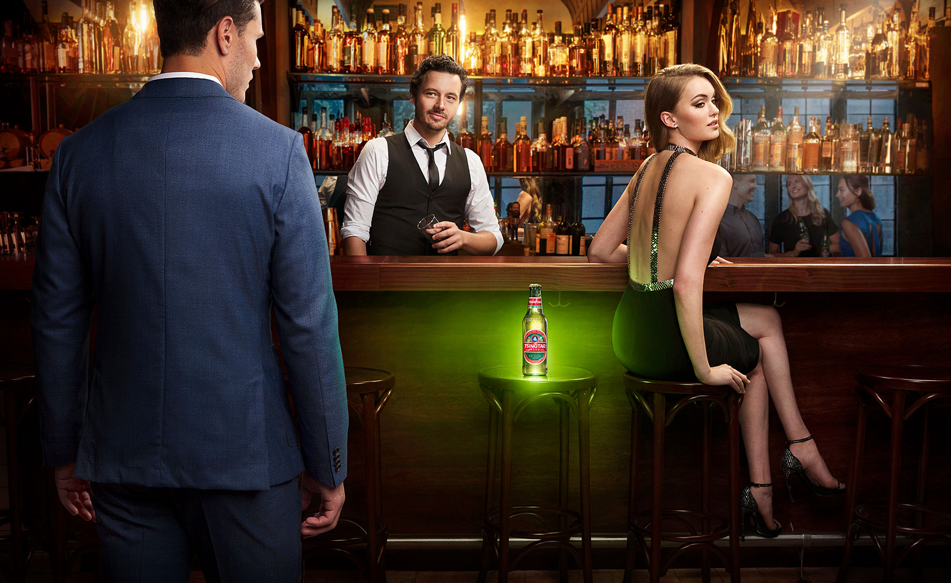 "Tsingtao ""Go Dare Yourself"" Ad Campaign"