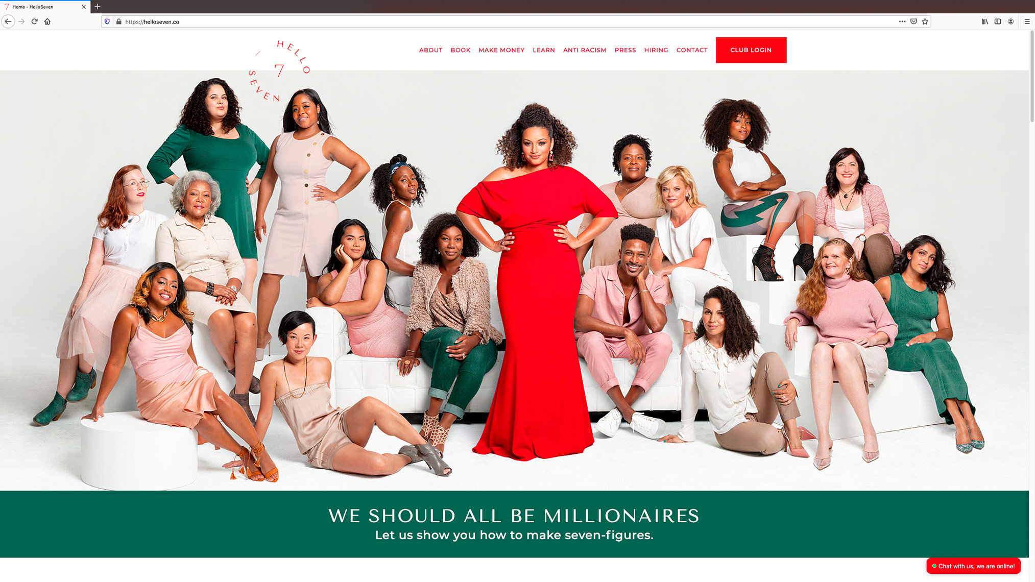 "Rachel Rodgers ""We Should All Be Millionaires"" Book & Branding Shoot"