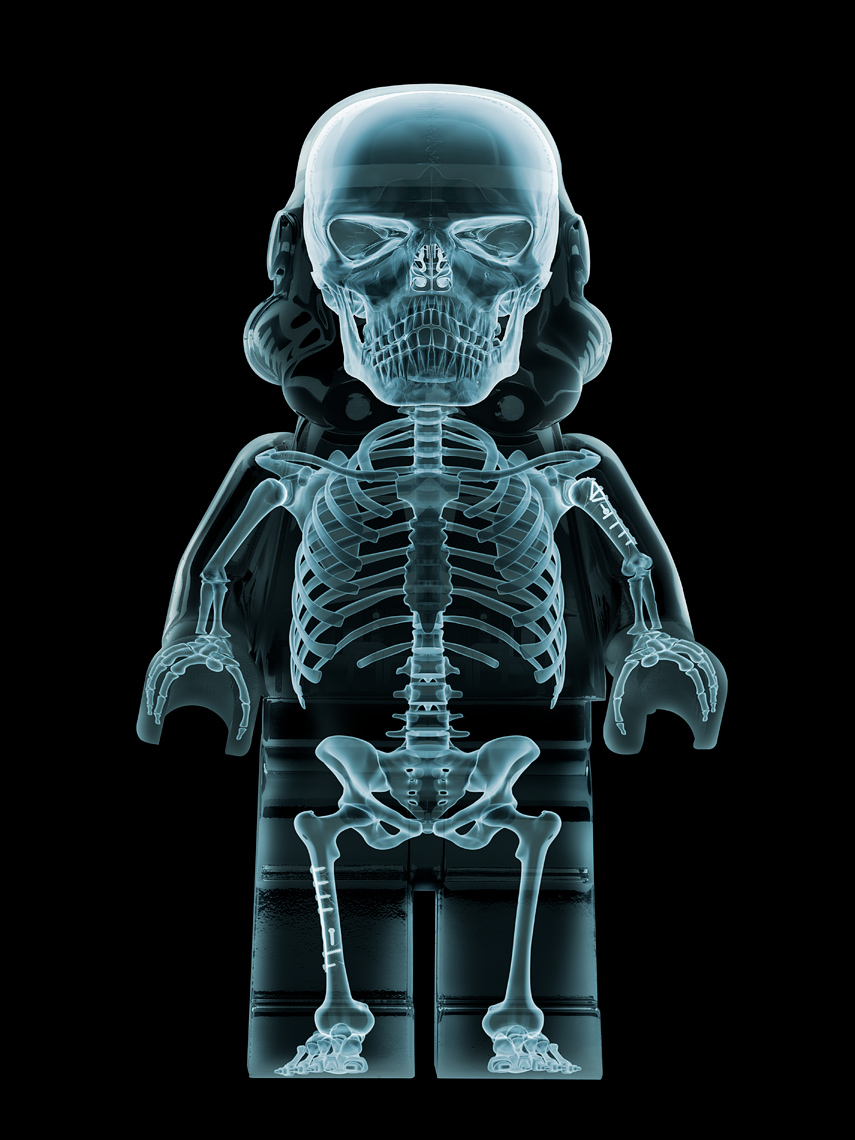 Lego Wars X-Ray Trooper Lightbox